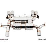 GTHAUS GT Racing Exhaust (Includes SUS SR Pipes)-2