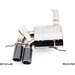 GTHAUS GT Racing Exhaust- Stainless- BM0121201-4