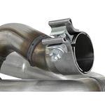aFe Twisted Steel Loop Relocation Pipe (48-48027-4