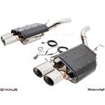 GTHAUS GTC Exhaust (EV Control) AL Shield Includ-4
