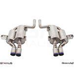 GTHAUS GT2 Racing Exhaust- Titanium- BM0812304-2