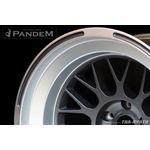 PANDEM 6666 WHEELS 18x9.5 -30, 5-114, GUNMETAL (-2