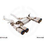 GTHAUS GT Racing Exhaust- Titanium- BM3212205-2