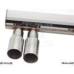 GTHAUS GT Racing Exhaust- Titanium- BM0332201-2