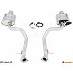 GTHAUS GTC Exhaust (EV Control)- Stainless- LE04-4