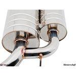 GTHAUS GT Racing Exhaust- Titanium- BM0912201-2
