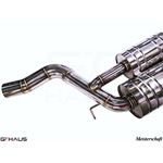 GTHAUS GT Racing Exhaust- Stainless- BM1711216-2