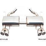 GTHAUS HP Touring Exhaust- Stainless- BM0411104-4