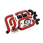 Front Mount Intercooler Kit (Inc. Red Piping) fo-2