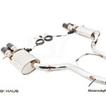 GTHAUS GTC Exhaust (EV Control)- Stainless- AU01-4