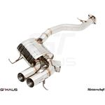 GTHAUS HP Touring Exhaust- Stainless- BM0121101-4