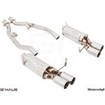 GTHAUS GT Racing Exhaust- Stainless- BM1911204-4