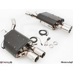 GTHAUS GTC Exhaust (EV Control)- Stainless- BM13-2