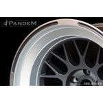 PANDEM 6666 WHEELS 18x11 -40, 5-100, GUNMETAL (6-2
