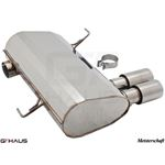 GTHAUS GT Racing Exhaust- Stainless- BM0361201-2
