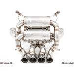 GTHAUS Super GT Racing Exhaust- Stainless- LA031-2