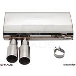GTHAUS HP Touring Exhaust- Stainless- BM0361101-2