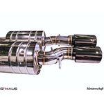 GTHAUS GT Racing Exhaust- Stainless- BM1721216-4
