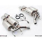 GTHAUS GTC Exhaust (EV Control)- Stainless- BM13-4