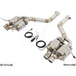 GTHAUS GTC Exhaust (EV Control)- Stainless- BE01-4
