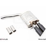 GTHAUS GT Racing Exhaust- Stainless- AU0611204-4