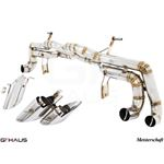 GTHAUS Super GT Racing Exhaust- Stainless- LA041-2