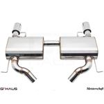 GTHAUS GT Racing Exhaust- Stainless- BM0411203-2