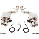 GTHAUS GTC Exhaust (EV Control)- Stainless- FE02-2