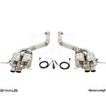 GTHAUS GTC Exhaust (EV Control)- Stainless- BE02-2
