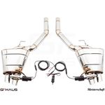 GTHAUS GTC Exhaust (EV Control)- Stainless- BM18-2