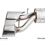 GTHAUS GT Racing Exhaust- Stainless- ME1121217-2