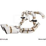 GTHAUS Super GT Racing Exhaust- Stainless- LA022-2