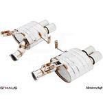 GTHAUS GT Racing Exhaust- Stainless- BM2021204-2