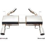GTHAUS HP Touring Exhaust- Stainless- BM0411102-2