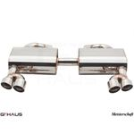 GTHAUS HP Touring Exhaust- Stainless- BM0421104-2