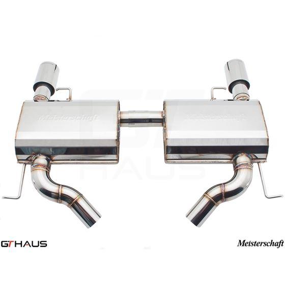 GTHAUS GT Racing Exhaust- Stainless- BM0411202-2