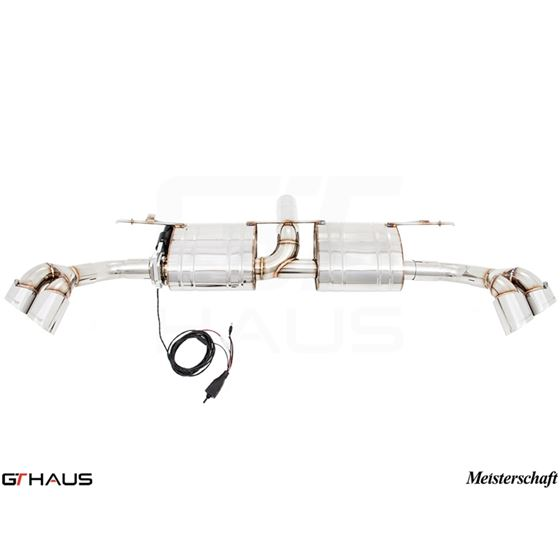 GTHAUS GTC Exhaust (EV Control)- Stainless- BM23-2