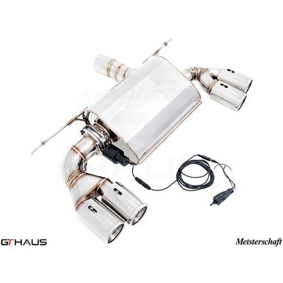 GTHAUS GTC Exhaust (EV Control)- Stainless- BM06-2