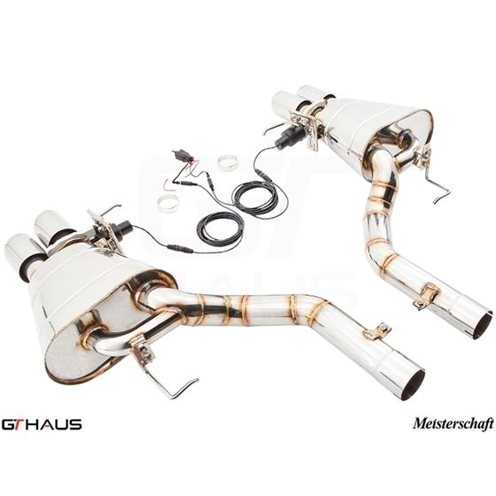 GTHAUS GTC Exhaust (EV Control)- Stainless- BM11-4