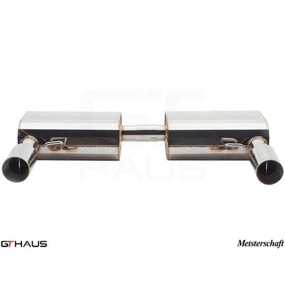 GTHAUS GT Racing Exhaust- Stainless- BM0411202-4