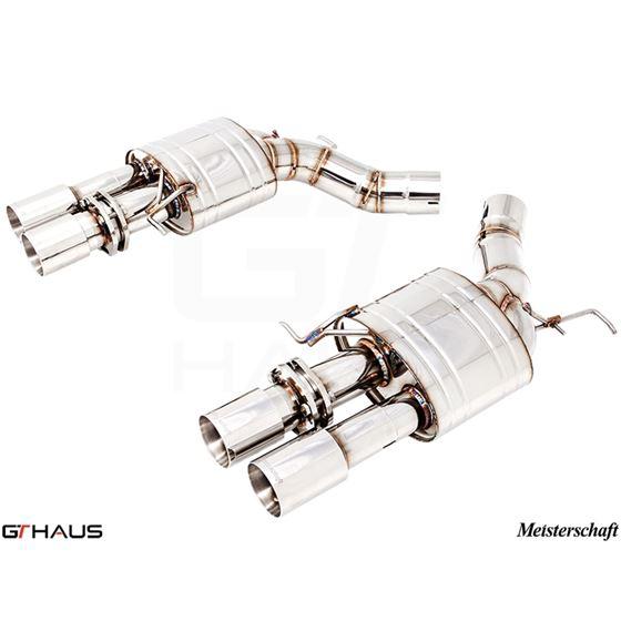 GTHAUS Super Light GT Racing Exhaust- Stainless-2