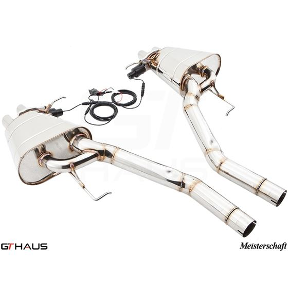 GTHAUS GTC Exhaust (EV Control)- Stainless- BM18-4