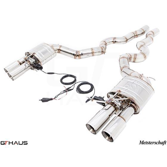 GTHAUS GTC Exhaust (EV Control)- Stainless- BM16-2