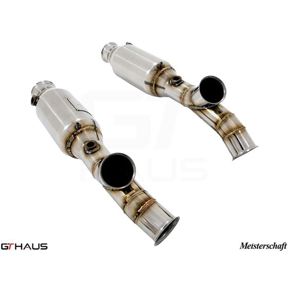 GTHAUS SR cat-bypass pipes- Stainless- LA0223001-2
