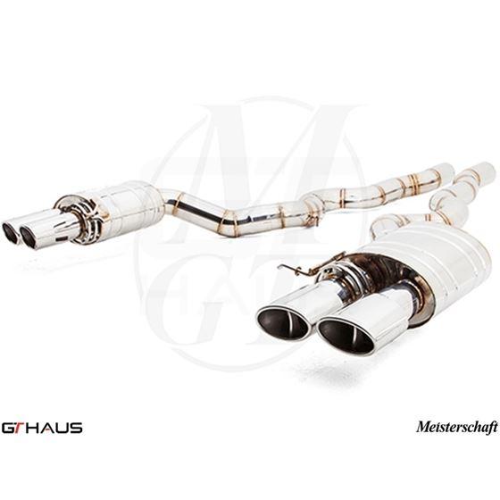 GTHAUS Super Light GT Racing Exhaust- Stainless-4