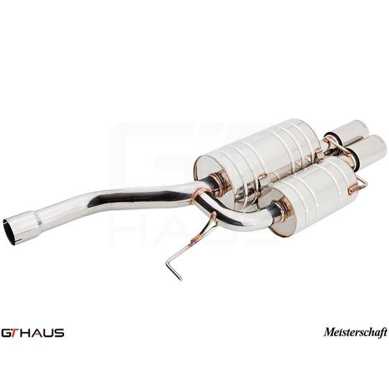 GTHAUS GT Racing Exhaust- Stainless- BM0911201-2