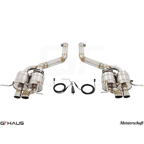 GTHAUS GTC Exhaust (EV Control)- Stainless- BE01-2