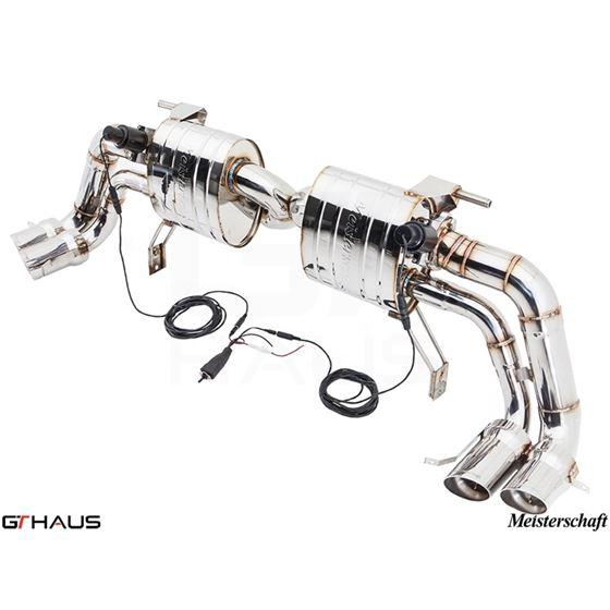 GTHAUS GTC Exhaust (EV Control)- Stainless- AU04-4