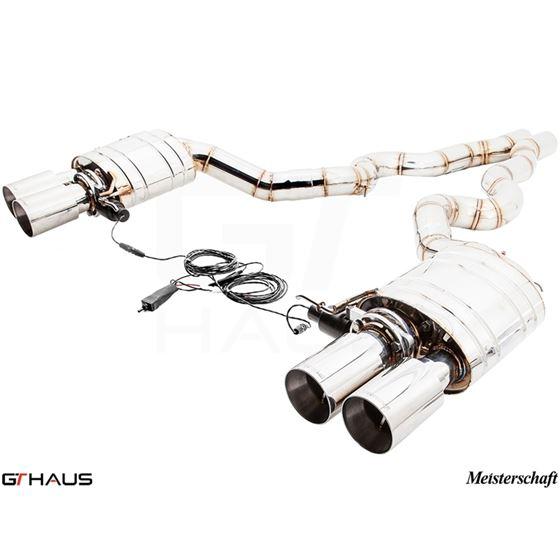 GTHAUS GTC Exhaust (EV Control)- Stainless- BM16-4