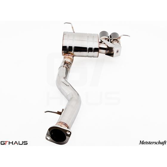 GTHAUS GT Racing Exhaust- Stainless- BM0111201-2